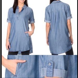 Chelsea & Theodore Soft Denim Dress Size XS